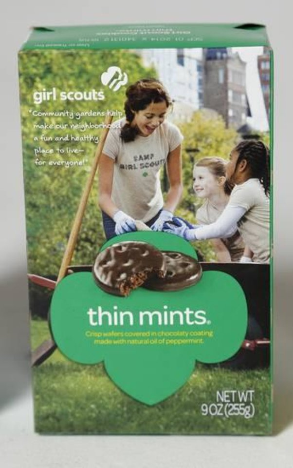Photo -  Thin Mints are the most popular variety of Girl Scout cookies. Photo by Doug Hoke, The Oklahoman