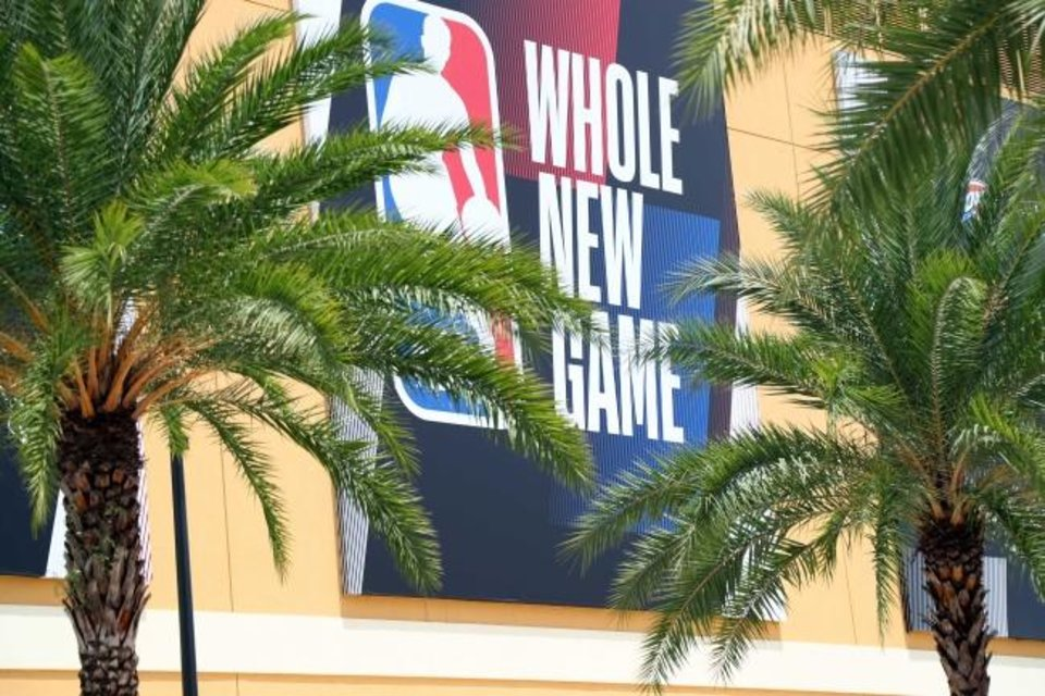 Photo -  Jul 28, 2020; Orlando, Florida, USA; An overview of ESPN Wide World of Sports Complex where the NBA season restart and playoffs with be played. Mandatory Credit: Kim Klement-USA TODAY Sports