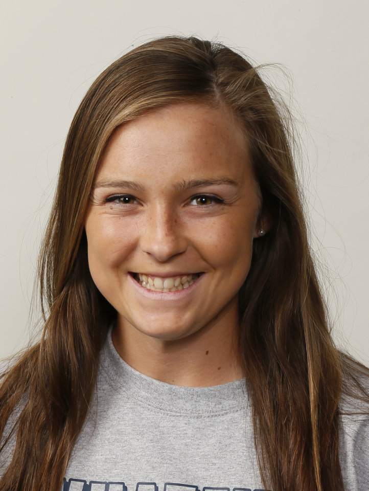 Photo - Abby Taliaferro, Edmond North softball player, poses for a mug shot during The Oklahoman's Fall High School Sports Photo Day in Oklahoma City, Wednesday, Aug. 15, 2012. Photo by Nate Billings, The Oklahoman