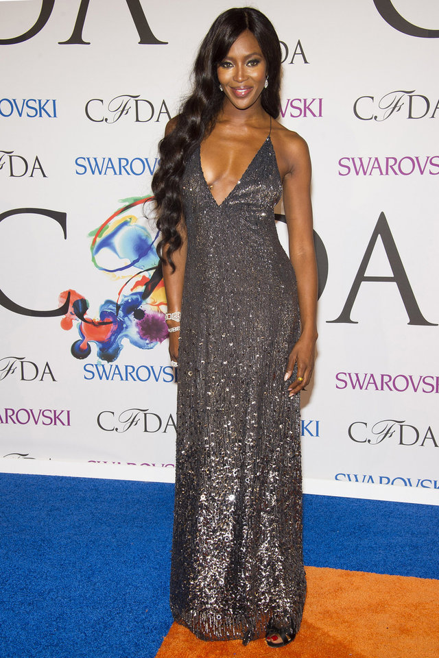 Photo - Naomi Campbell attends the CFDA Fashion Awards on Monday, June 2, 2014 in New York. (Photo by Charles Sykes/Invision/AP)