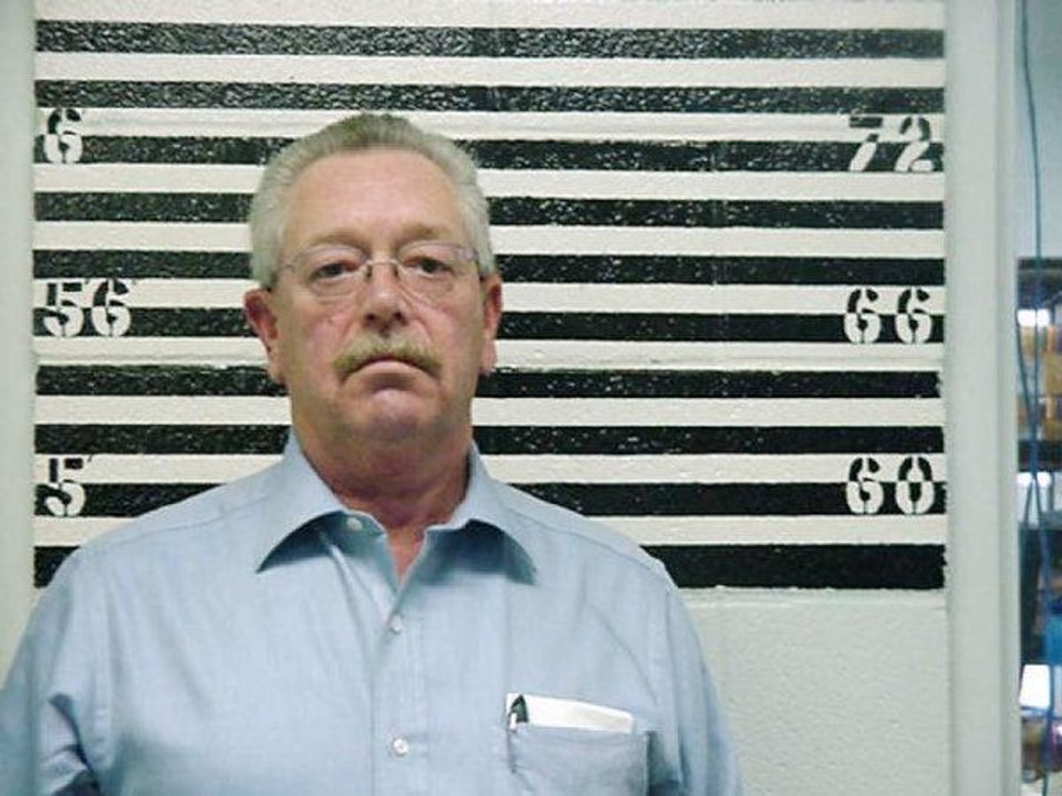 Photo - Former Custer County Sheriff Mike Burgess is now serving 79 years in state prison for sex crimes against female inmates.  PROVIDED - Provided