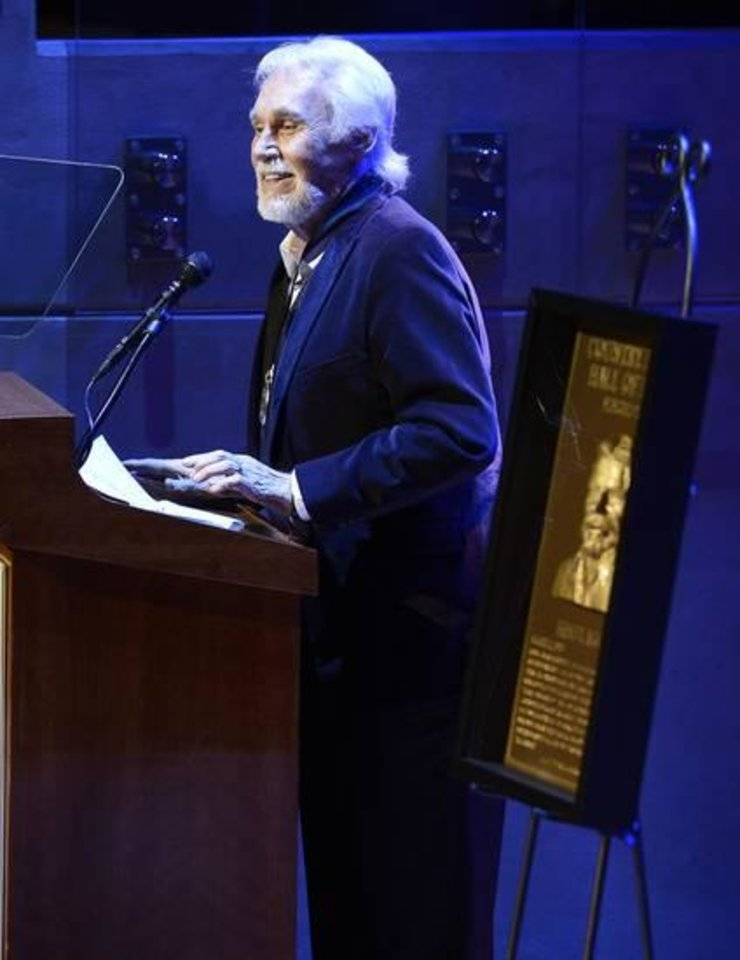 Photo -  Kenny Rogers (AP file)