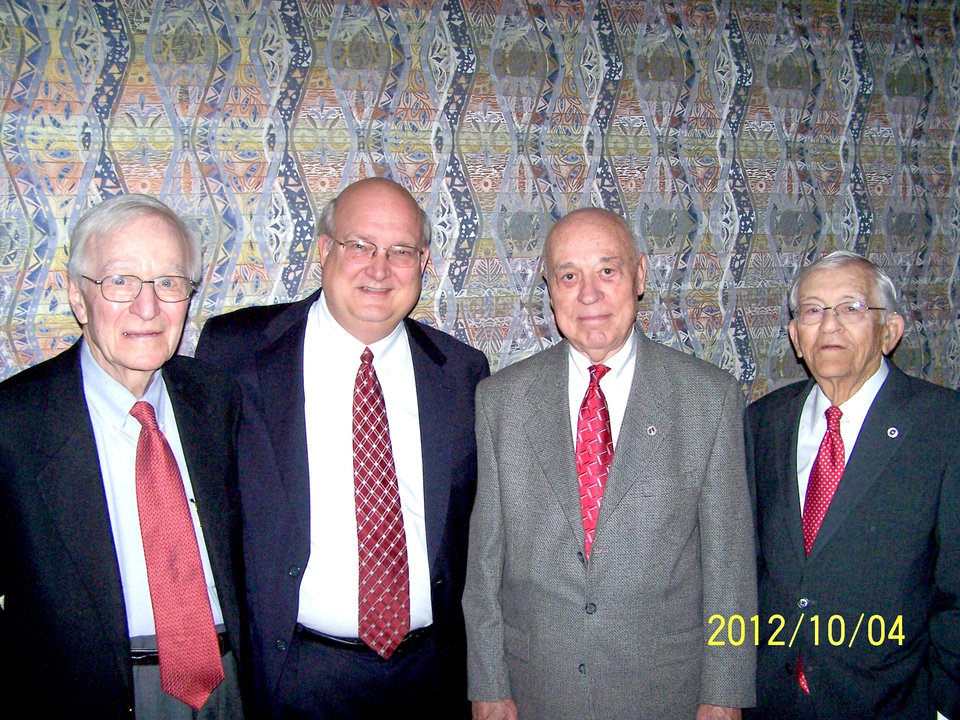 Louis Trost. Kraettli E. Epperson, Dick Webber, Tom Flesher. PHOTO PROVIDED