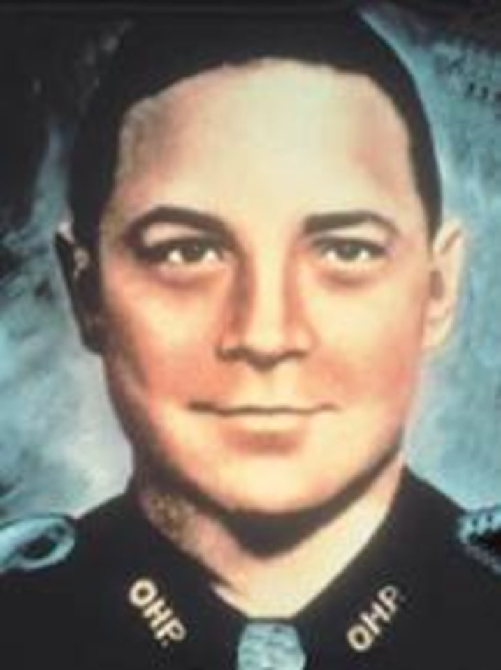 OKLAHOMA HIGHWAY PATROL / MUG: Trooper Howard Crumley  Crumley joined the OHP in 1953.  Trooper Crumley was killed by two shots from his service revolver by two brothers who had brutally murdered a man and had been stopped by Crumley shortly afterward. While Crumley had the driver spread-eagle the passenger pulled a gun and the pair then shot the trooper. They then kidnapped a woman and forced her to drive them around. One of the men then shot himself and the other one forced the woman to drive him to the residence of a third brother. Troopers and other officers arrested the man after the woman reported the incidents. The twenty-two-year-old man was convicted and sentenced to life imprisonment.