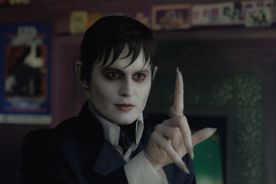 "Johnny Depp plays Barnabas Collins in Warner Bros. Pictures' and Village Roadshow Pictures' gothic comedy ""Dark Shadows."" <strong>Peter Mountain</strong>"