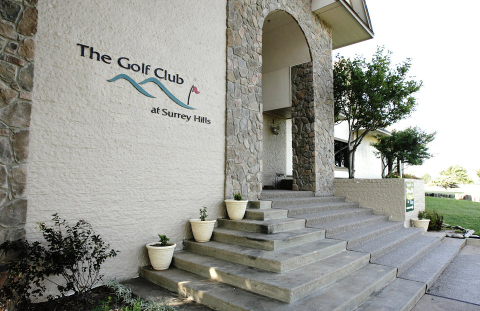 The exterior of the Golf Club at Surrey Hills. PHOTO BY PAUL B. SOUTHERLAND, OKLAHOMAN ARCHIVE