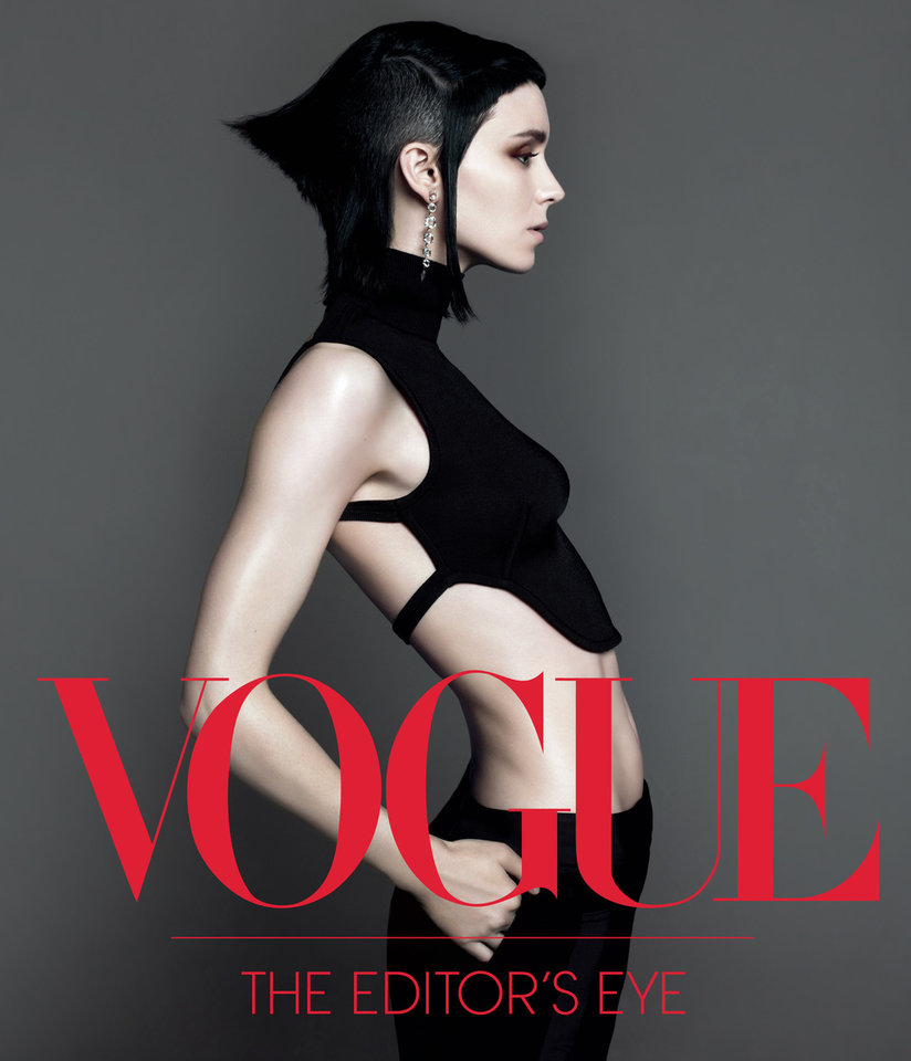 "This book cover image released by Abrams Books shows ""Vogue: The Editor's Eye."" The book features interviews with eight of the magazine's stylists through time and includes celebrity portraits and behind-the-scenes candids by the fashion industry's top photographers, including Irving Penn, Mario Testino, Richard Avedon and Annie Leibovitz. (AP Photo/Abrams Books)"
