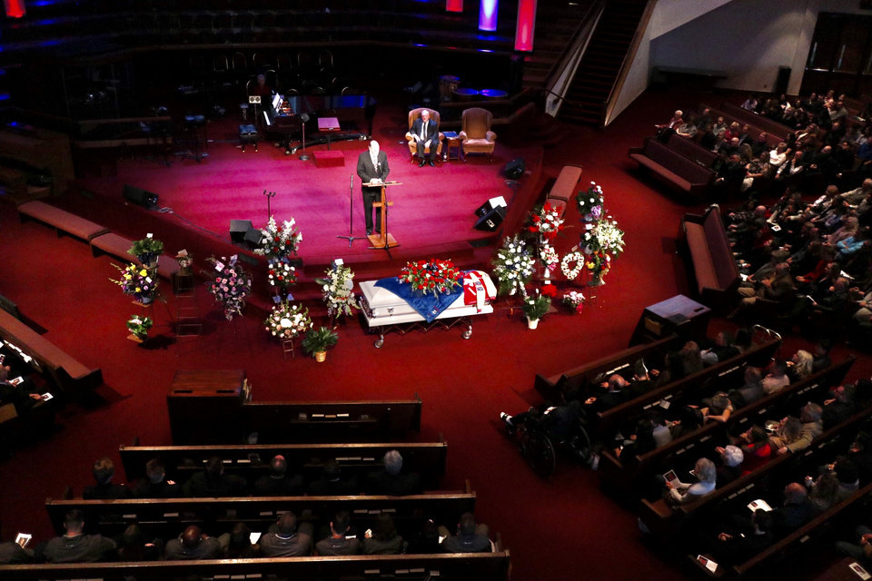 Photo - The funeral for Rachel Freeman is held Tuesday, Feb. 11, 2020. Photo by Doug Hoke