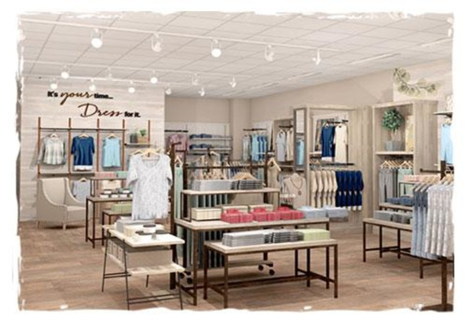 Photo - Coldwater Creek has opened a new store at Classen Curve in Oklahoma City.