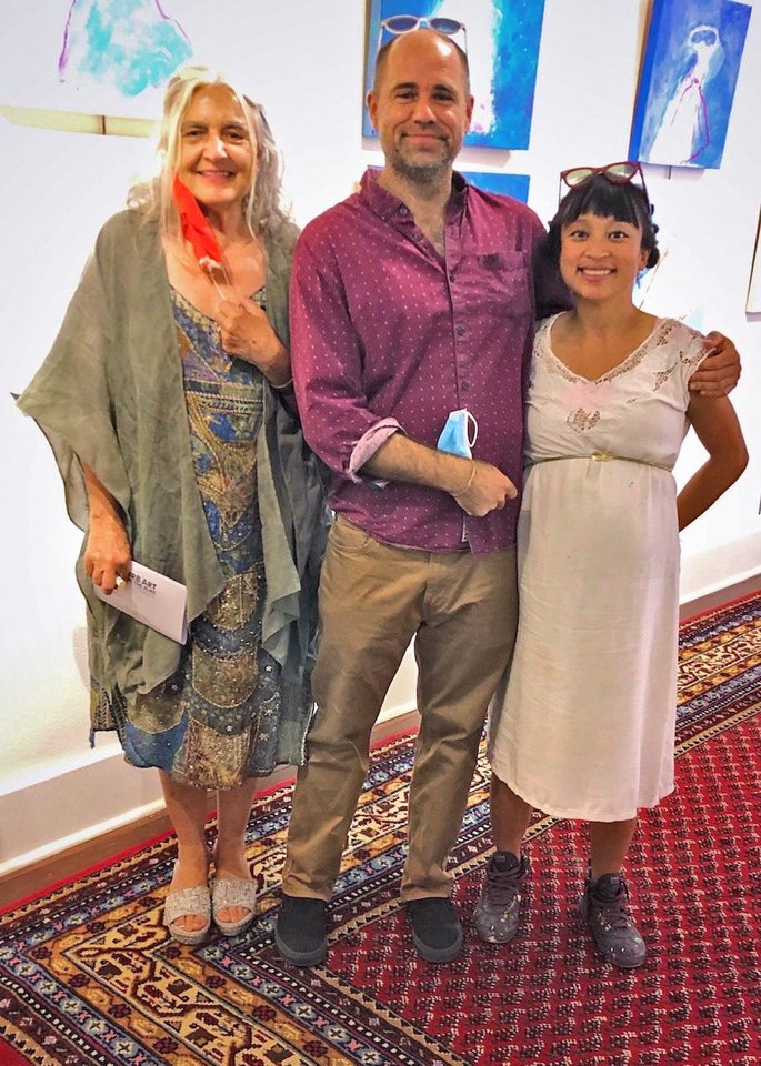 Photo - Rebecca Wheeler, Gabriel Friedman and Denise Duong. PHOTO PROVIDED