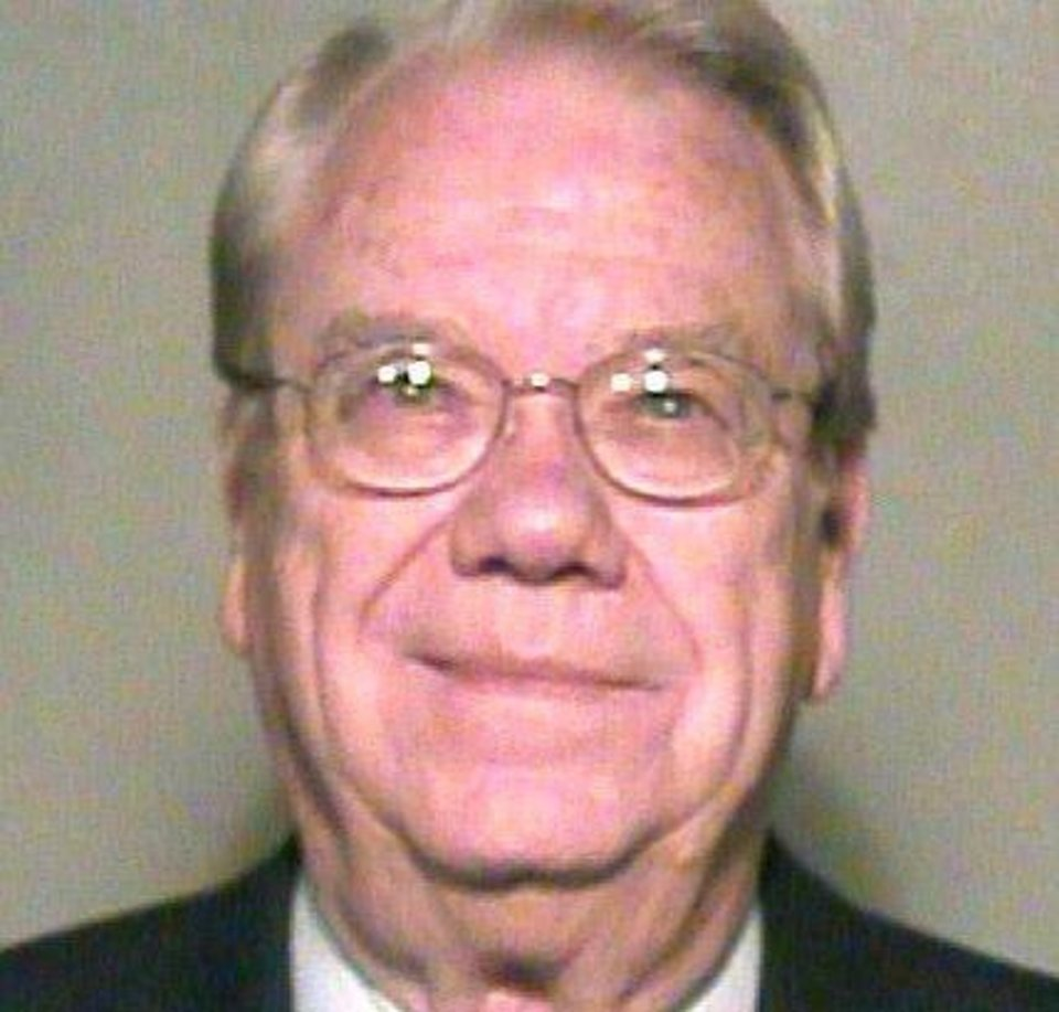 Photo - Richard Dugger, one of five Oklahoma Pardon and Parole Board members charged with misdemeanor violations of the state Open Meeting Act.