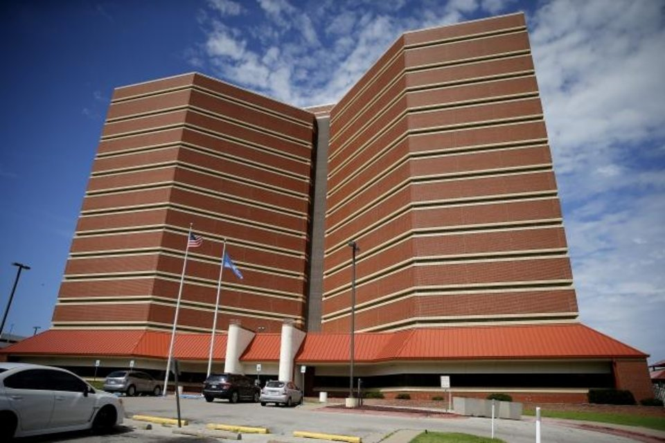 Photo -  The Oklahoma County jail in downtown Oklahoma City. [Bryan Terry/The Oklahoman]