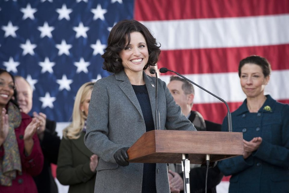 """VEEP"": Julia Louis-Dreyfus. - Photo credit: Lacey Terrell"