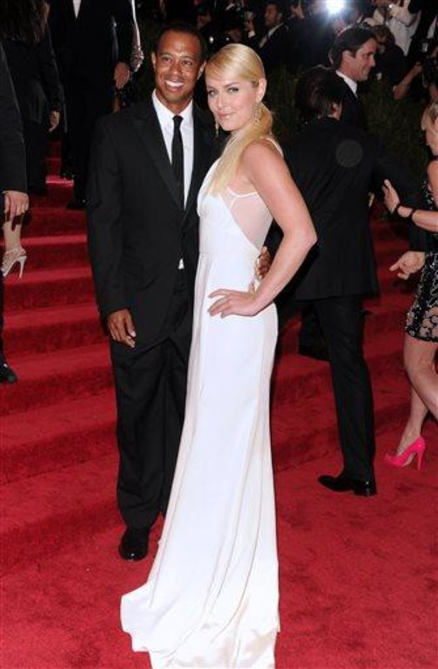 Photo - Golfer Tiger Woods and skier Lindsey Vonn attend The Metropolitan Museum of Art's Costume Institute benefit celebrating