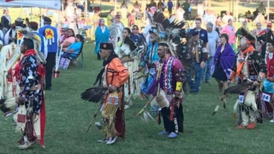 Photo -  Dancers participate in the Tinker Inter-Tribal Council's Pow-Wow in 2017. The event, held in Midwest City's regional park every June, promotes diversity and inclusion in the community.