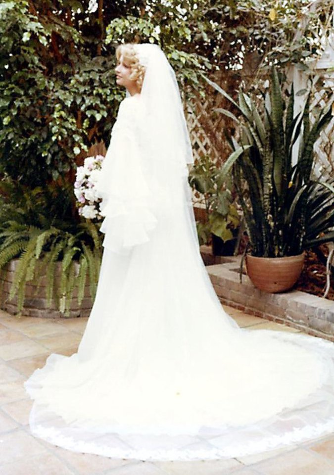 Photo - Peggy Morgan was married June 24, 1977.   - Photo provided by Pat Morgan