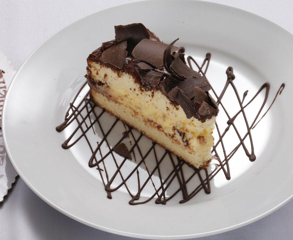 La Baguette's Boston Creme Pie on Friday, Jan. 27, 2012, in Norman, Okla.   Photo by Steve Sisney, The Oklahoman