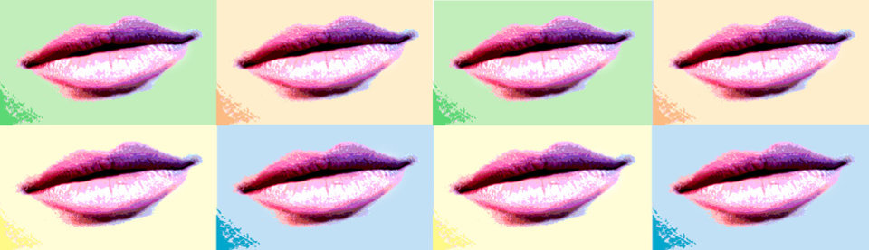 Photo - Graphic: Pink lips / Lipstick / Cosmetics / Makeup:  Multi colored lips - Illustration by Ben Bigler, THE OKLAHOMAN