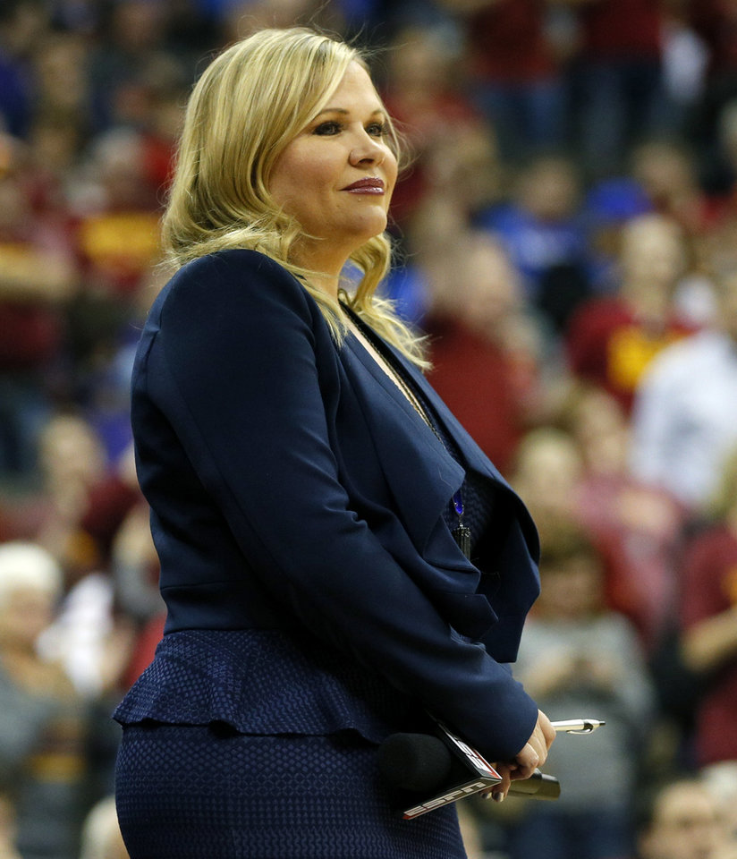 ESPN's Holly Rowe stays on go all the time Veteran ...