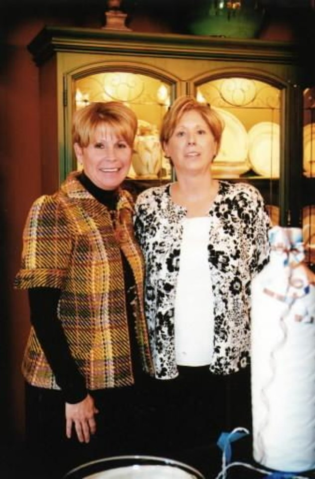 Deann Bower, Debbie Coy. PHOTO PROVIDED