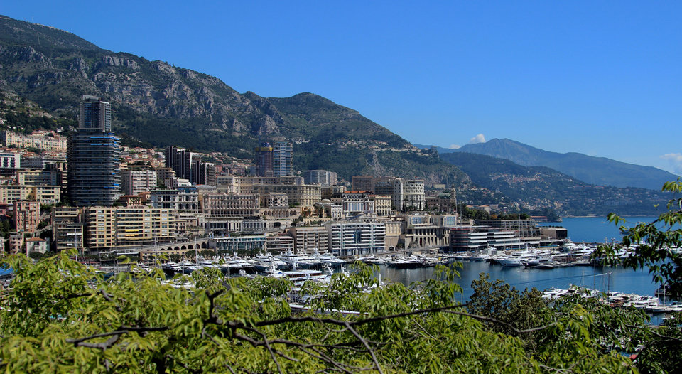 Photo - This May 13, 2013 photo shows a view of Monaco, which is set on a narrow strip of land bordered by France on three sides and the Mediterranean on the other. Monaco can be reached via three scenic roads, the Basse Corniche, Moyenne Corniche or Grande Corniche. (AP Photo/Michelle Locke)