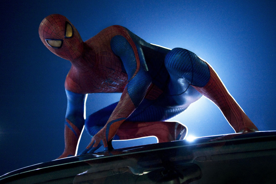 """Photo - Andrew Garfield stars as Spider-Man in the new movie """"The Amazing Spider-Man."""" PHOTO PROVIDED"""