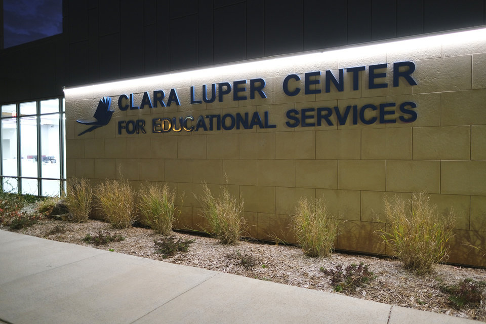 Photo - The new Clara Luper Center for Educational Services, Monday, November 9, 2020. [Doug Hoke/The Oklahoman]