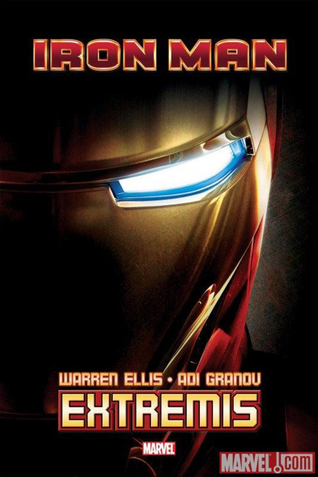 """Iron Man: Extremis."" Marvel Comics.   <strong></strong>"
