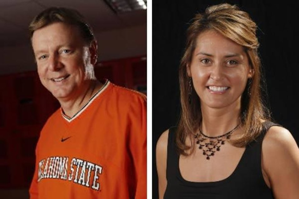 Kurt Budke and Miranda Serna