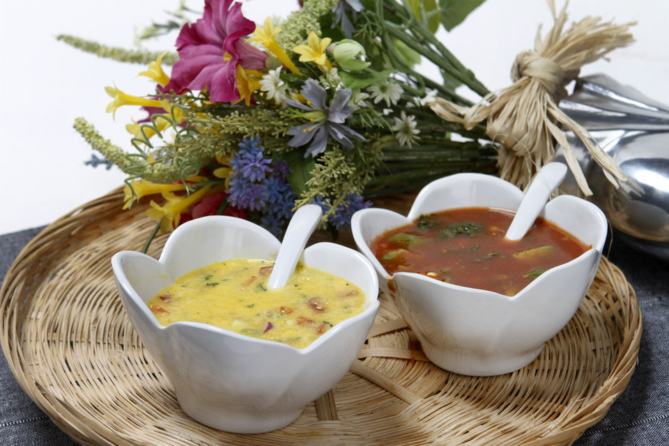 Photo - Chilled soups help cool you off while maintaining your health.  STEVE GOOCH - THE OKLAHOMAN