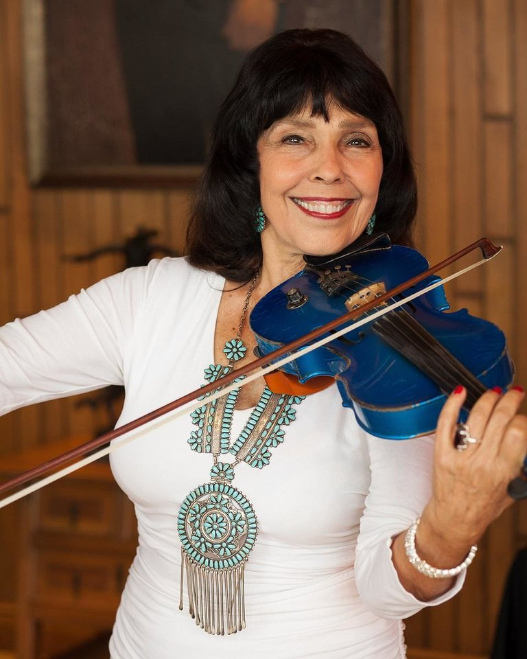 Photo - Respected country instrumentalist Jana Jae will host her long-running Jana Jae Fiddle Camp and Music Festival over Labor Day weekend in Grove. [Photo provided]
