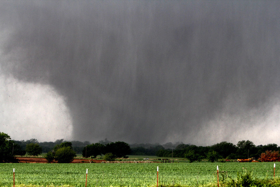 A tornado passes across south OKC Oklahoma City, OK, Monday, May 20, 2013, By Paul Hellstern, The Oklahoman