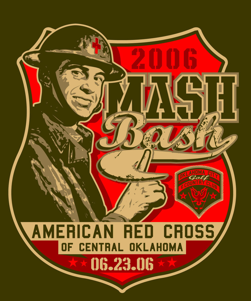 2006 MASH Bash invitation<br/><b>Community Photo By:</b> American Red Cross of Central OK<br/><b>Submitted By:</b> Jennifer,