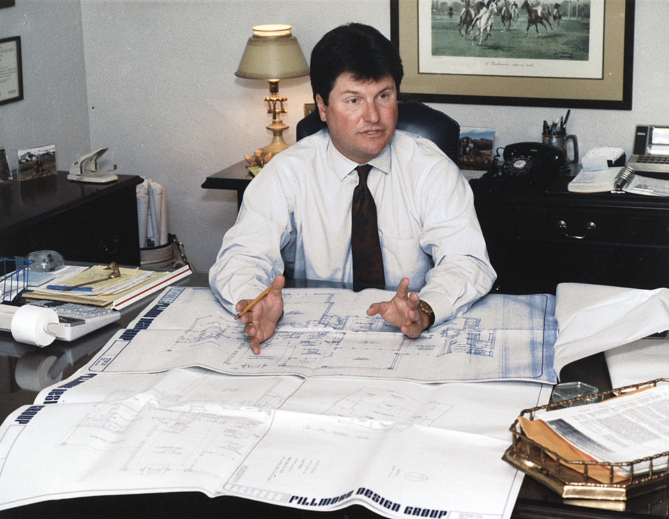 Photo - Mark Dale, 2010 president of the Central Oklahoma Home Builders Association, was president once before, in 1990, as shown in this 20-year-old photo.   OKLAHOMAN ARCHIVE PHOTO