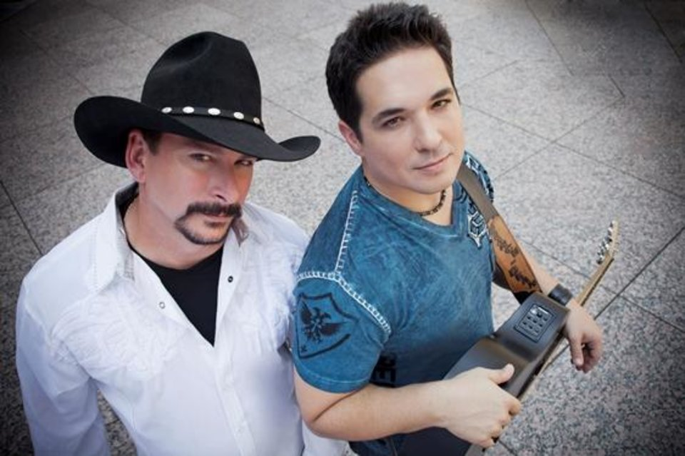 Photo -  Country duo Branch & Dean are National Celebrity Ambassadors for the Cystic Fibrosis Foundation. Photo provided