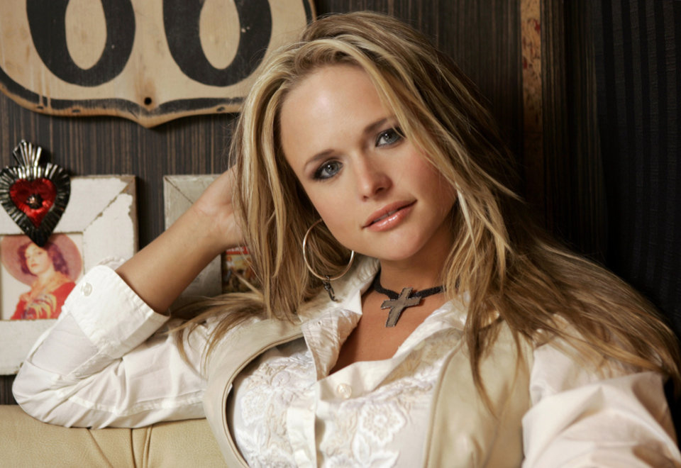 Photo - FILE - In this March 21, 2007 file photo, Miranda Lambert is shown on her tour bus in Nashville, Tenn. Lambert and Tim McGraw are the top nominees for this year's Academy of Country Music Awards. Lambert and McGraw are up for seven awards apiece at the April 6 awards show. The nominations were announced Wednesday morning in a series of videos via social media. (AP Photo/Mark Humphrey)