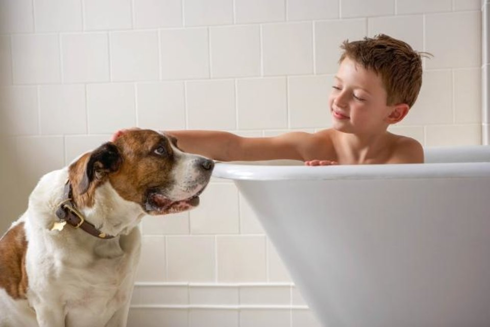 Photo -  Regular bathing can help protect people with compromised immune systems. [MetroCreative image]