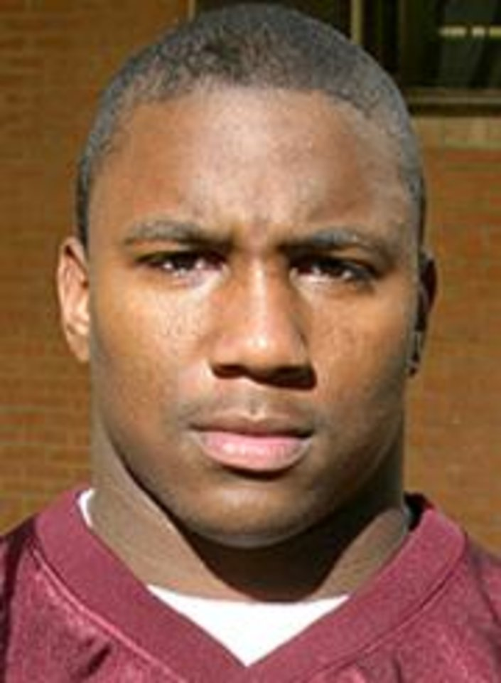 Photo - Jonathan Davis, University of Oklahoma (OU) college football player	 ORG XMIT: 0808272158067499