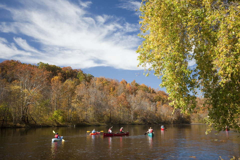 The James River in fall   Photo by Jeff Greenough <strong>Jeff Greenough</strong>