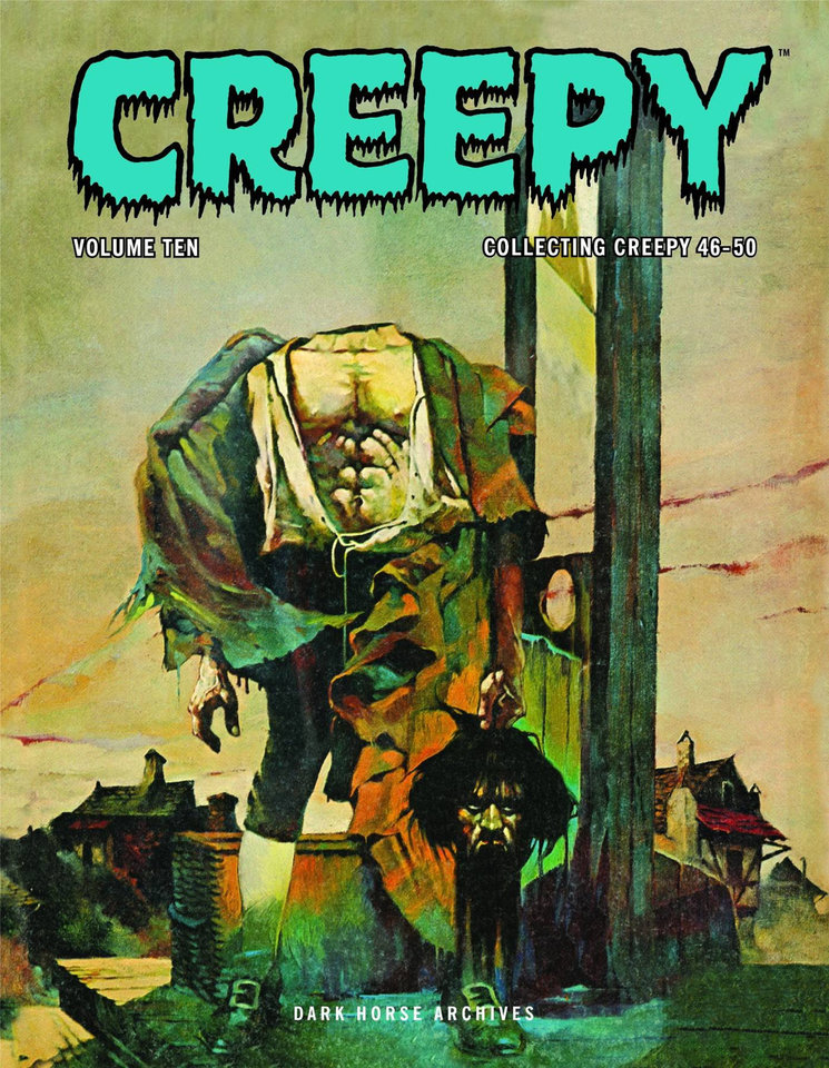 Photo - Creepy Archives Vol. 10 [Dark Horse Comics]