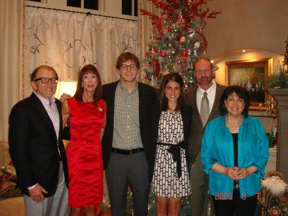 Left: Len and Donna Cason, Roger Cason, Rachel Nowlin, Robert and Lisa Nowlin. PHOTOs PROVIDED