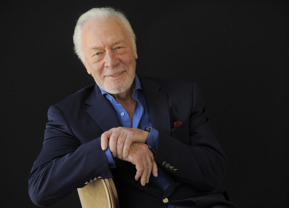 Photo - FILE - In this July 25, 2013, file photo, Christopher Plummer, a cast member in the HBO film