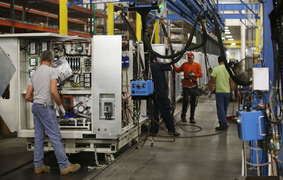 Photo -  AAON Inc., which makes industrial and commercial HVAC equipment, is among the better performing public companies based in Oklahoma during the past 11 years. [Tulsa World photo]