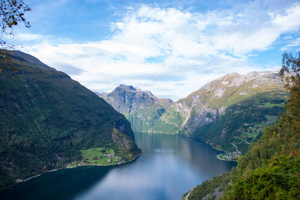 Photo - FILE - This undated file photo provided by the tour company Adventures by Disney shows a Norwegian fjord that is part of an itinerary based on the movie