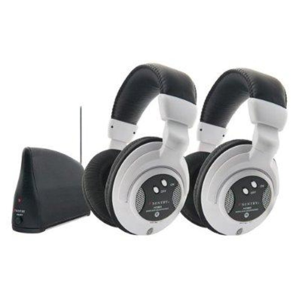 Photo - Sentry Full-Size Wireless Headphones two-pack   ORG XMIT: 0811201835001830