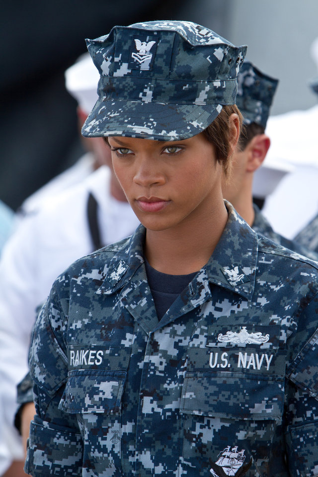 Photo - FILE- In this file film image provided by Universal Pictures, Rihanna is shown in a scene from