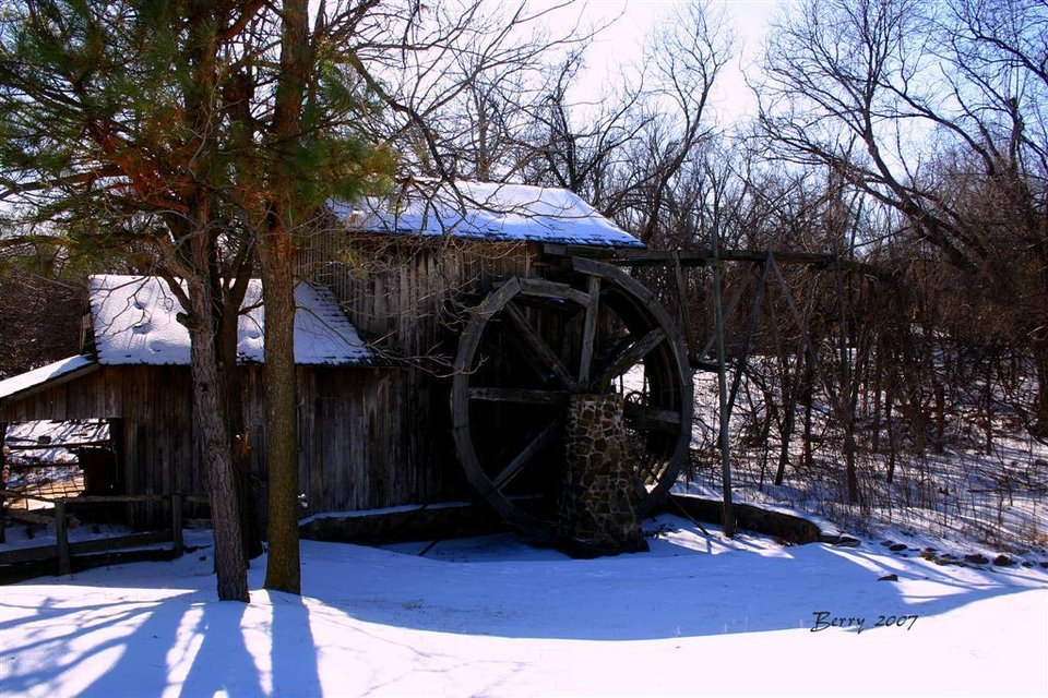Water Wheel at The Wilds of BLC in El Reno<br/><b>Community Photo By:</b> Berry J. Yarbrough<br/><b>Submitted By:</b> Berry, Bethany