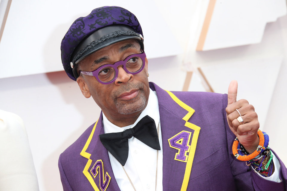 Photo - Feb 9, 2020; Los Angeles, CA, USA;  Spike Lee arrives at the 92nd Academy Awards at Dolby Theatre. Mandatory Credit: Dan MacMedan-USA TODAY