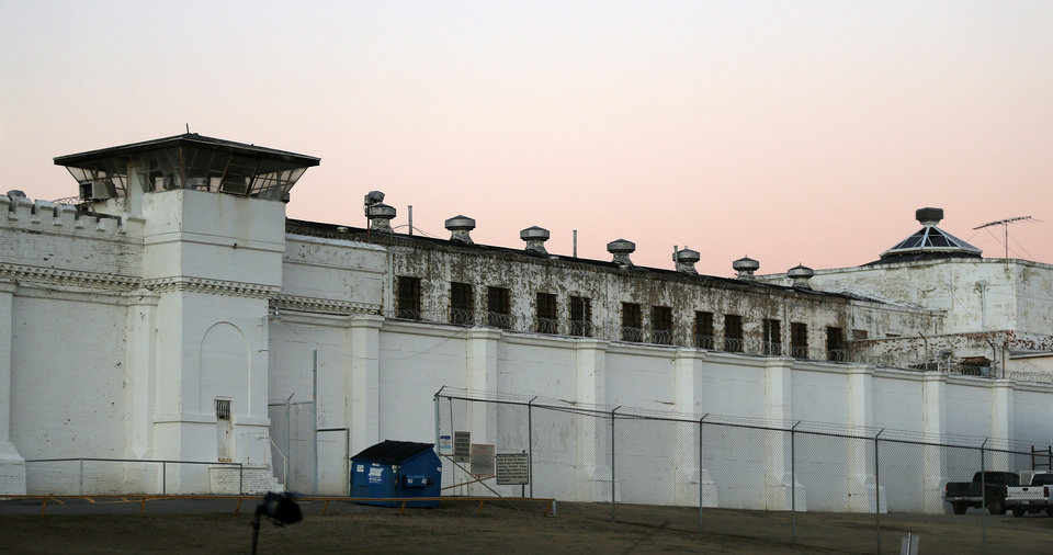 Photo - The Oklahoma State Penitentiary in McAlester, Okla., Thursday, Jan. 15, 2015. Charles Warner is the first inmate to be executed in Oklahoma since the bungled execution of Clayton Lockett on April 29, 2014. Photo by Nate Billings, The Oklahoman