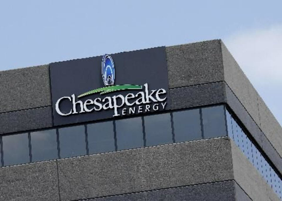 One of Chesapeake's accounting buildings along Interstate 44 Wednesday, May 2, 2012. Photo by Doug Hoke